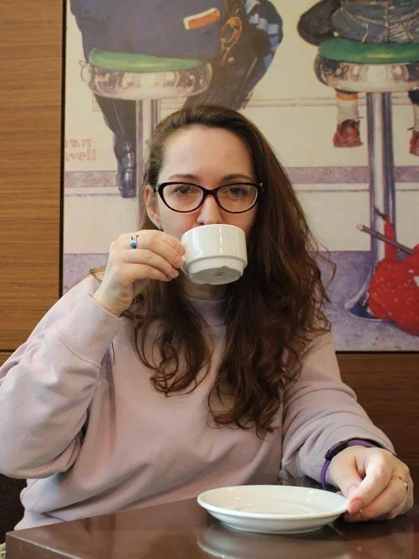 Машa, руководитель отдела обучения Coffee Bean